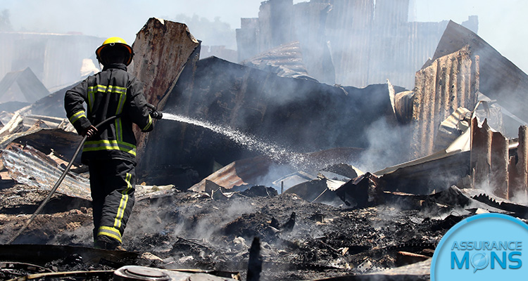 Assurance incendie pour professionnel